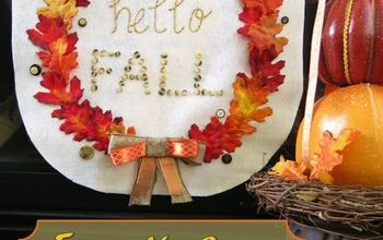 How to Make a No-Sew Fall Banner for Your Home