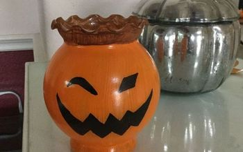bud vase pumpkins ghosts, crafts, halloween decorations, seasonal holiday decor
