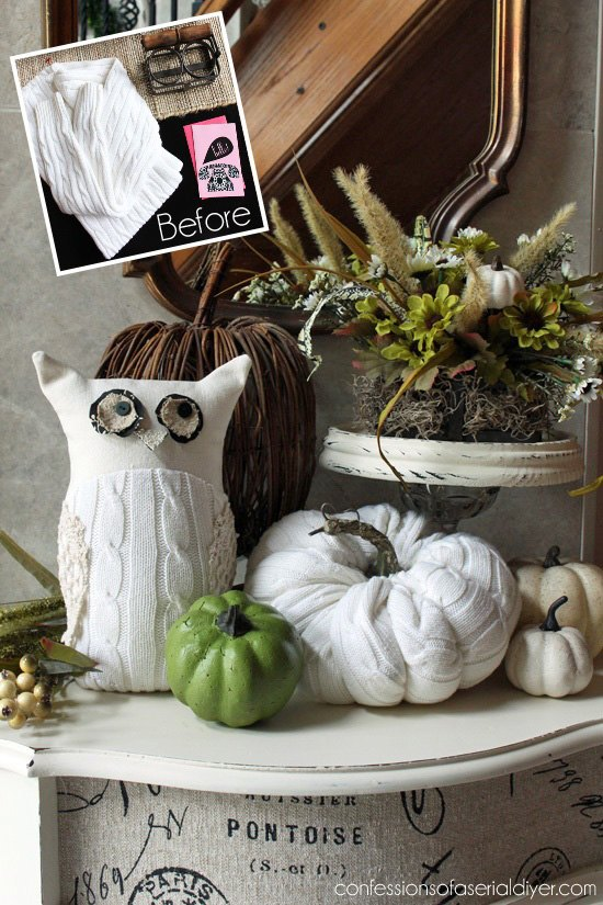 repurposed sweater and more, crafts, repurposing upcycling, seasonal holiday decor