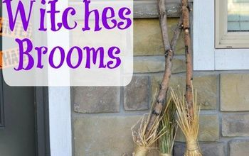 DIY Witches Brooms