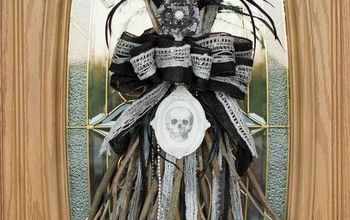 witches broomstick halloween swag tutorial, halloween decorations, how to, seasonal holiday decor
