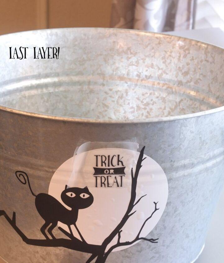 easy to make halloween candy bucket free svg halloween, crafts, halloween decorations, seasonal holiday decor