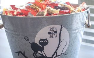 easy to make halloween candy bucket free svg halloween, crafts, halloween decorations, seasonal holiday decor