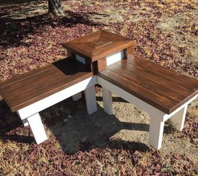 Perfect Diy Corner Bench With Built In Table, Diy, Outdoor Furniture, Painted  Furniture,