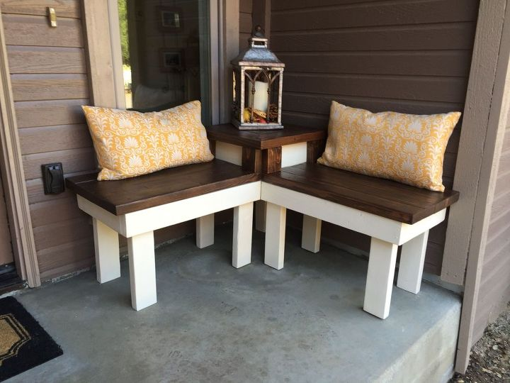 Diy Corner Bench With Built In Table Hometalk