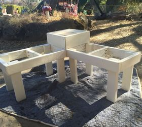 Exceptional Diy Corner Bench With Built In Table, Diy, Outdoor Furniture, Painted  Furniture,