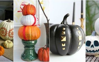 project guide decorating with fake pumpkins, crafts, halloween decorations, how to, seasonal holiday decor