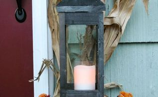 how to build two lanterns from one 8 board, crafts, how to, seasonal holiday decor