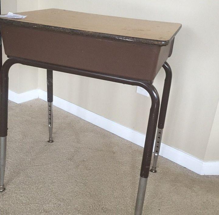 Old School Desk Makeover Painted Furniture