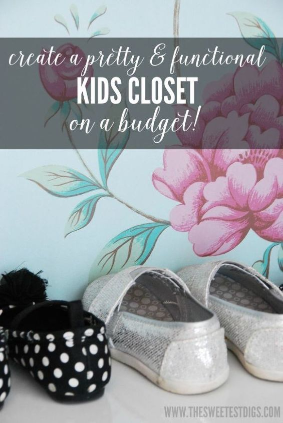 how to create an organized kids closet, bedroom ideas, closet, how to, organizing