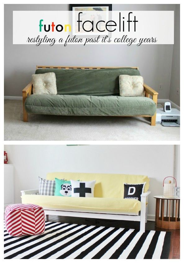 A Futon Facelift Painted Furniture Repurposing Upcycling