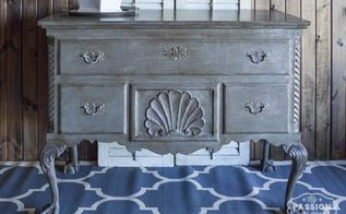 inspired by french country chest furniture refresh, painted furniture