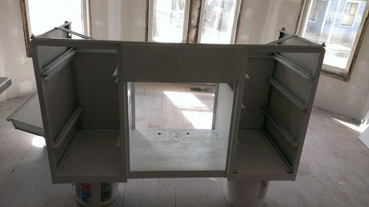 refinishing a youngstown sink, diy, painted furniture, repurposing upcycling