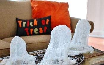 The Easiest Cheesecloth Ghosts