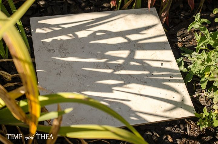 How I Use Ceramic Floor Tiles As A Timesaver When Planting Tulip ...