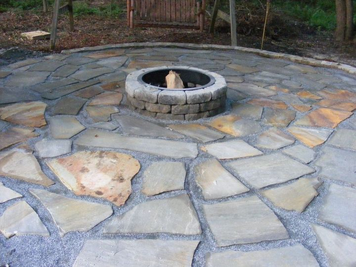 Make a Flagstone Patio | Hometalk