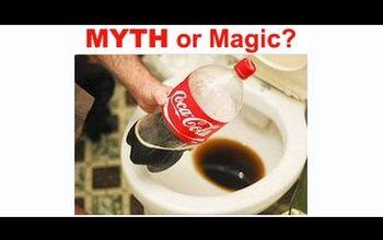 MYTH or Magic? - Soda Toilet Cleaning Hack