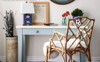 Console Table Makeover & Thoughts on Chalk Paint
