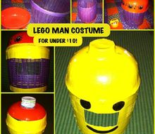 d i y lego man costume for under 10, crafts, halloween decorations, home improvement