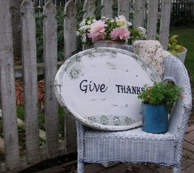 Cottage Garden Thanksgiving Sign From Antique Mirror, Repurposing  Upcycling, Seasonal Holiday Decor