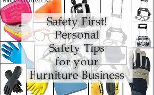 basic personal safety for furniture painting, painted furniture