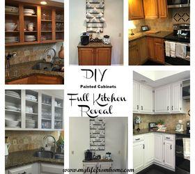 DIY Painted Kitchen Cabinets Hometalk