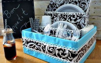 diy dish organizer, crafts, organizing