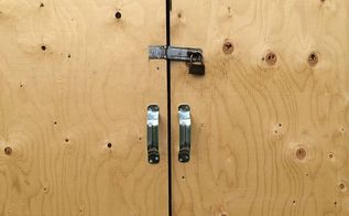 shed door how to measure make and install a shed door diy guide, diy, doors, how to, outdoor living, woodworking projects, How to make a light shed door