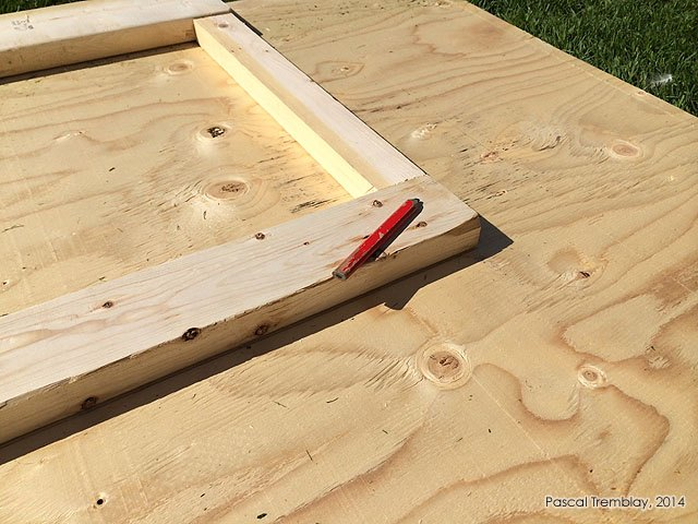Tips for cutting plywood door panel