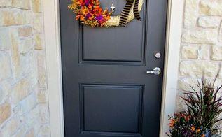 diy fall wreath planter, crafts, gardening, seasonal holiday decor, wreaths