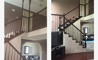 it looked easy on pintrest adventures of a 6 week stair case remodel, diy, home improvement, stairs