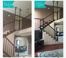 Attrayant It Looked Easy On Pintrest Adventures Of A 6 Week Stair Case Remodel, Diy,