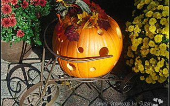 Holey Pumpkin!