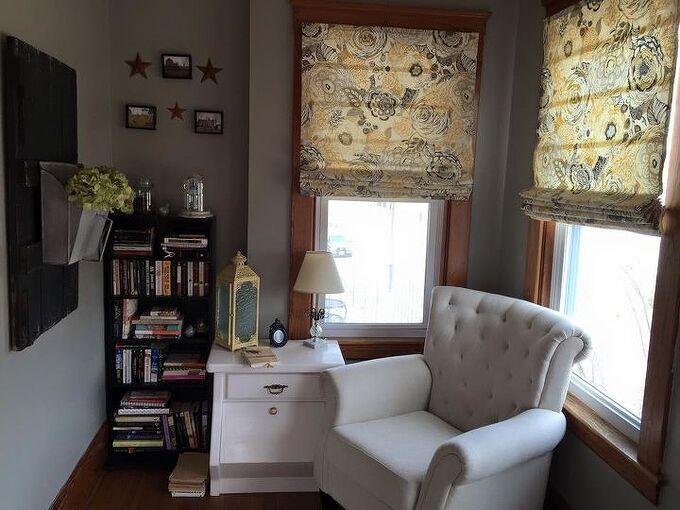diy roman shades, diy, home decor, how to, reupholster, window treatments, windows