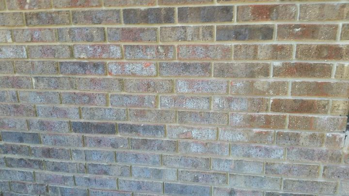 How do we clean water stained exterior bricks? | Hometalk How To Clean Exterior Brick on how to clean privacy fence, how to clean stainless steel appliances, how to clean jetted tub, how to clean wood floors, how to clean asphalt shingle roof, how to clean refrigerator, how to clean crown molding, how to clean granite countertops, how to clean tile roof, how to clean deck, how to clean garage, how to clean concrete driveway,