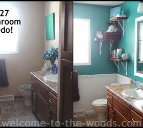 Merveilleux Bathroom Redo For Only 27, Bathroom Ideas, Paint Colors, Repurposing  Upcycling, Small