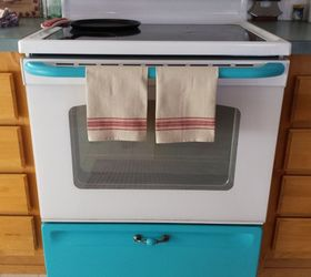 Beau Give Your White Stove A Touch Of Vintage, Appliances, Kitchen Design,  Painting