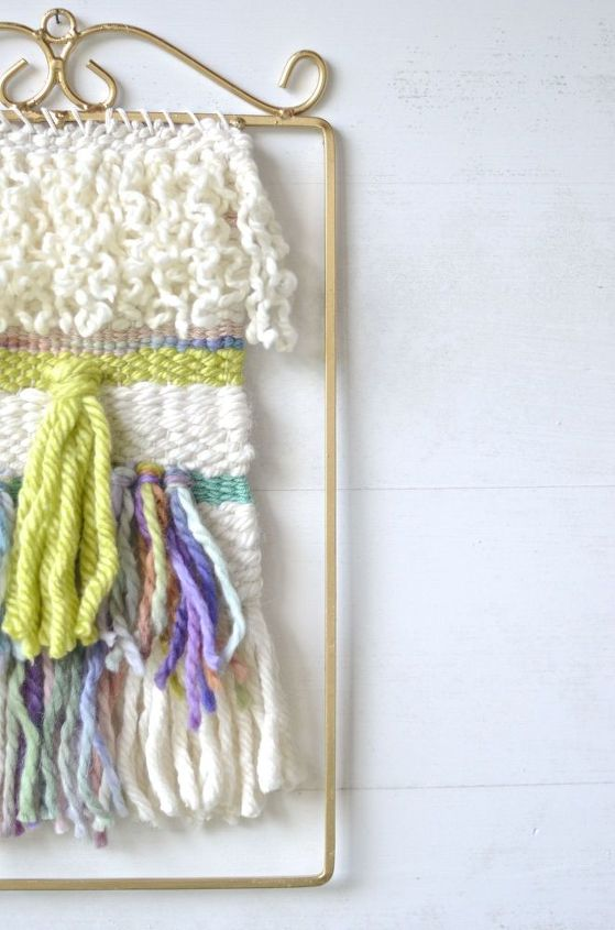 weaving and tv dinners transforming thrifted treasures, crafts, repurposing upcycling
