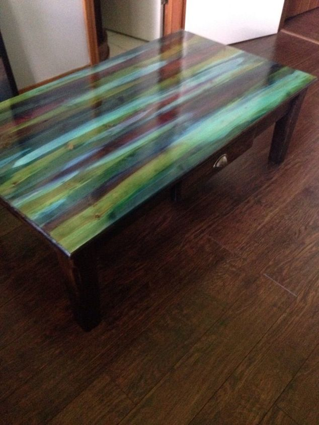 From Dump To Divine With Unicorn Spit Painted Furniture