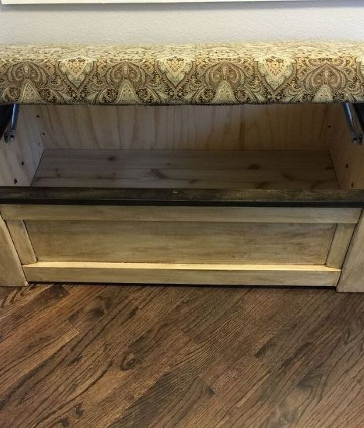 the ottoman challenge, painted furniture