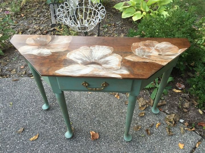 Phenomenal Painting With Wood Stain 80S Table Gets A Makeover Hometalk Creativecarmelina Interior Chair Design Creativecarmelinacom