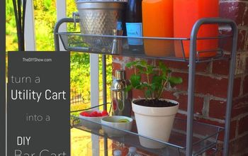 From Utility Cart to Bar Cart