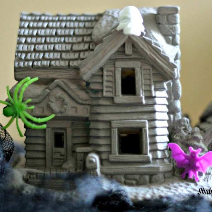 s 8 eerie halloween decorations made from unexpected things, halloween decorations, repurposing upcycling, seasonal holiday decor, A Dark and Haunted Village