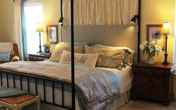 master bedroom headboard, bedroom ideas, repurposing upcycling, reupholster