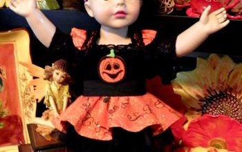 Little Jo's Doll Party - Little Jo's Halloween Costume
