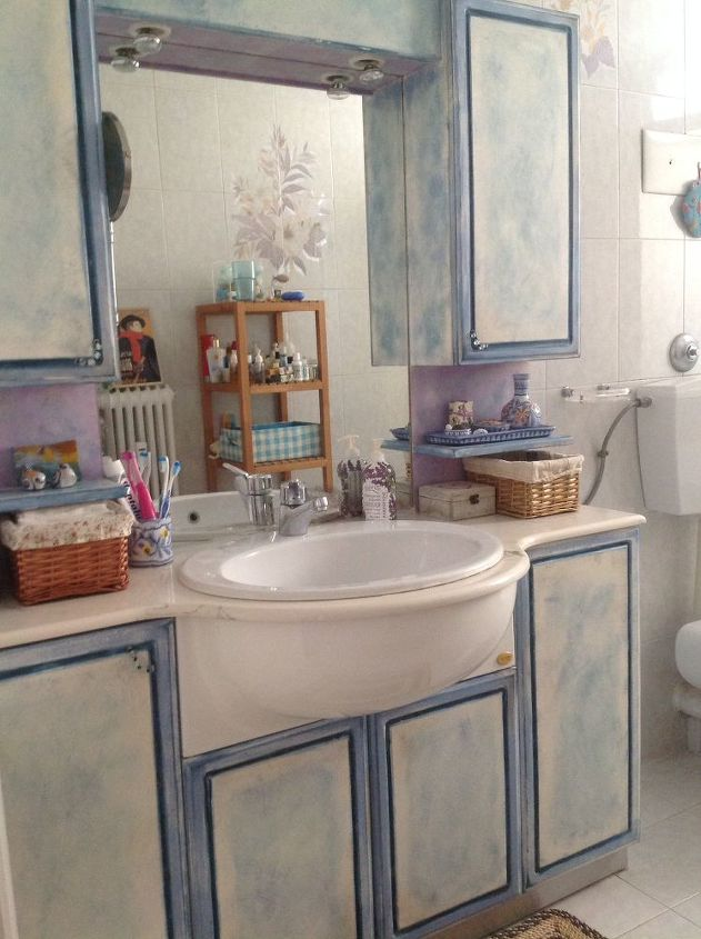 bathroom cabinets makeover with chalk paint, bathroom ideas, chalk paint,  painting