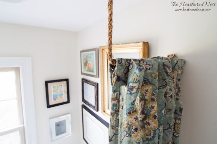 Pipe Dreams Aka Build A Diy Curtain Rod In 10 Minutes Repurposing Upcycling Window