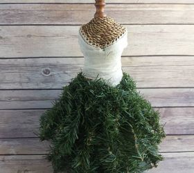 Dress Form Christmas Tree.Dress Form Christmas Tree Mini Hometalk