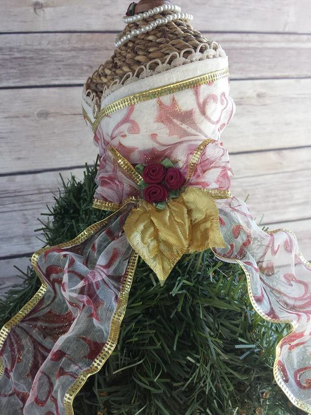 dress form christmas tree mini, christmas decorations, crafts, wreaths