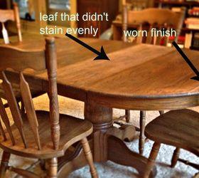 Dining Room Table Redo